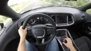 2017 Dodge Challenger R/T POV Drive!