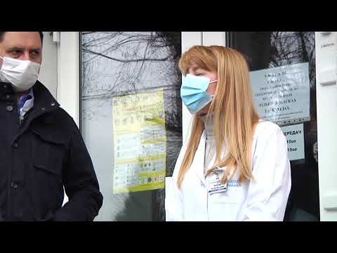 Суспільне Житомир: Сергій Сухомлин і Віталій Бунечко попросили вибачення у медперсоналу інфекційного відділення