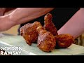 Buttermilk Fried Chicken with Sweet Pickled Celery Gordon Ramsay