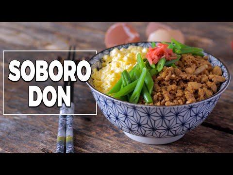 soboro-don---donburi---le-riz-jaune