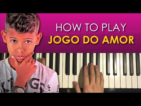 HOW TO PLAY - Mc Bruninho - Jogo Do Amor (Game of Love) (Piano Tutorial Lesson)