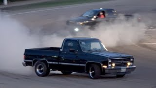 Pickup Truck Spectator Drags Night Racing @Beech Ridge 2017