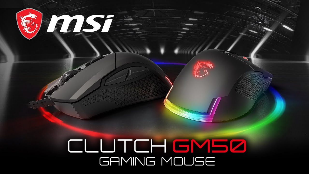 Hands On MSI CLUTCH GM50 Gaming Maus