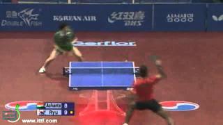 Achanta Sharath Kamal vs Ryu Seung Min[Grand Finals 2010]
