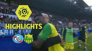 RC Strasbourg Alsace - FC Nantes (1-2) - Highlights - (RCSA - FCN) / 2017-18