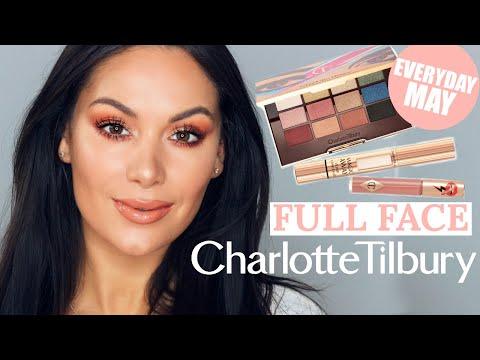 FULL FACE TUTORIAL USING CHARLOTTE TILBURY - EVERYDAY MAY   Beauty's Big Sister thumbnail