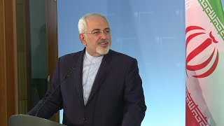 Iran FM Javad Zarif reacts to US President Trump