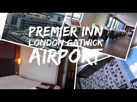 Premier Inn London Gatwick North Terminal - Closest to Airport - Hotel and Room tour