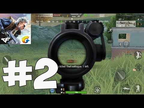 CrossFire Legends - Battle Royale 21 Kills Android Gameplay Part 2