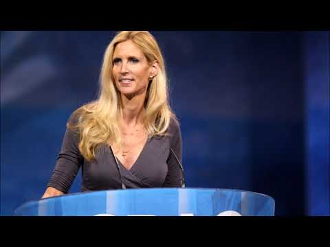 Ann Coulter Discusses Border Wall, 'Roseanne' Revival