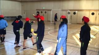 28 2 18 ハンドボールの指導 6年生
