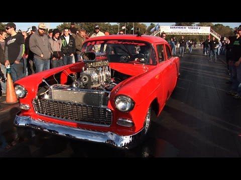 SICK Blown '55 Chevy w/Nitrous – OKC No Prep