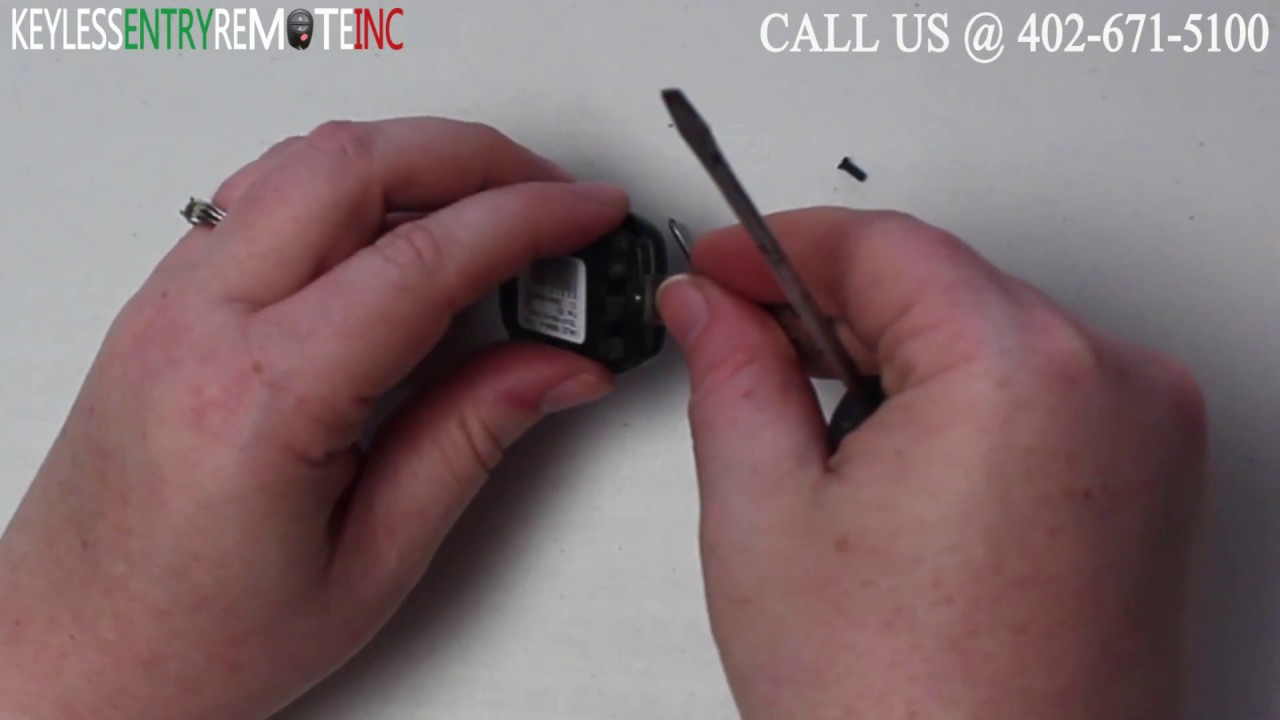 How To Replace Honda Civic Key Fob Battery 2005 2006 2007 2008 2009    YouTube
