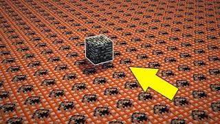 10000 ТНТ ПРОТИВ 1 БЕДРОКА! Я СЛОМАЛ БЕДРОК В МАЙНКРАФТ? 10,000 TNT VS 1 BEDROCK BLOCK | Minecraft