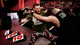 Top 10 Raw moments: WWE Top 10, March 7, 2016