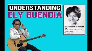Understanding Ely Buendia