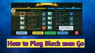 Blockman Go|How To Play Blockman Go|Bed Wars With Block Man Go