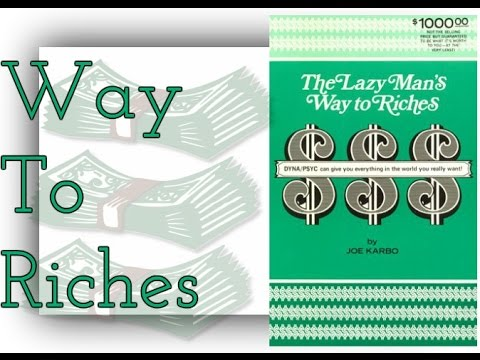 The Lazy Man S Way To Riches By Joe Karbo Law Of border=