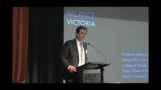 Balance Victoria Professor Martyn Hook