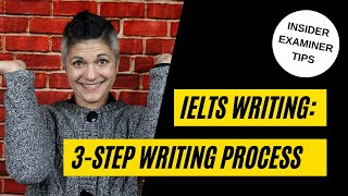 The 3 Step Writing Process-  Maximise your IELTS Writing Scores!