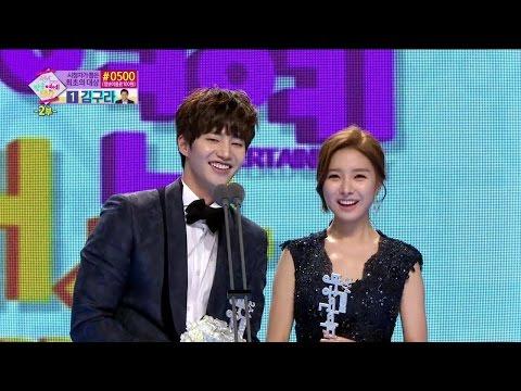 【TVPP】Song Jae Rim - Best Couple Award With Soeun, 송재림 & 김소은 베스트 커플상 @ 2014 MBC Entertainment Awards