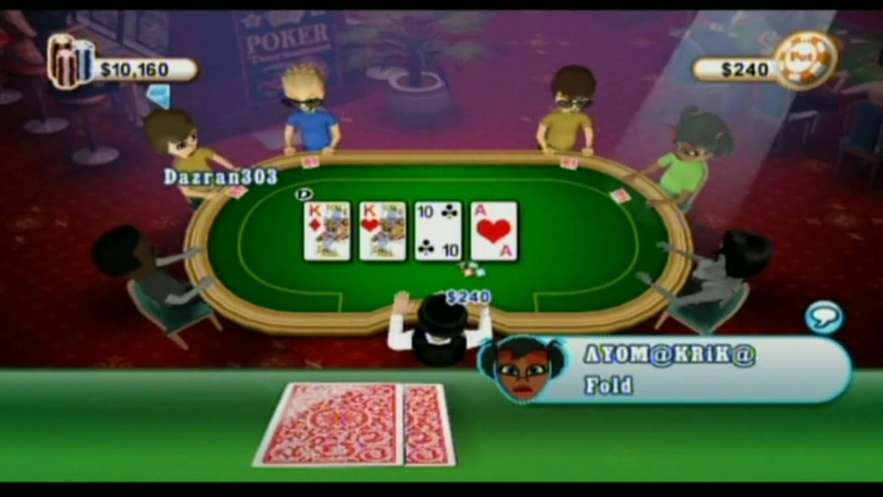 Wii poker online