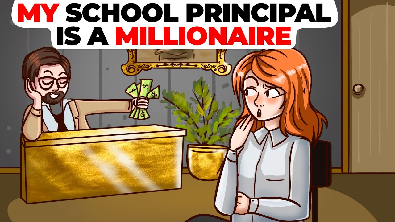 My School Principal is a Millionaire | Animated Story about the Dream School