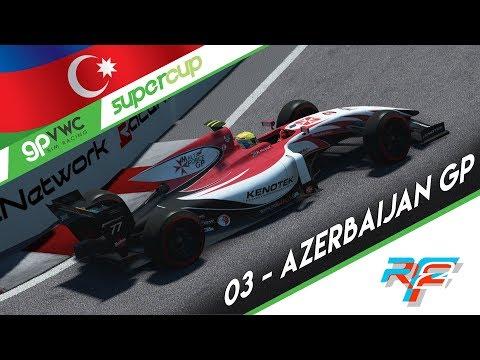 rFactor 2 Esports l GPVWC Sim Racing | Supercup championship 2018 l Round 3