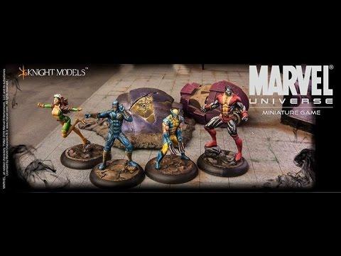 Marvel Universe Mini Game + Rhino Diorama
