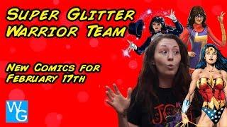 Super Glitter Warrior Team