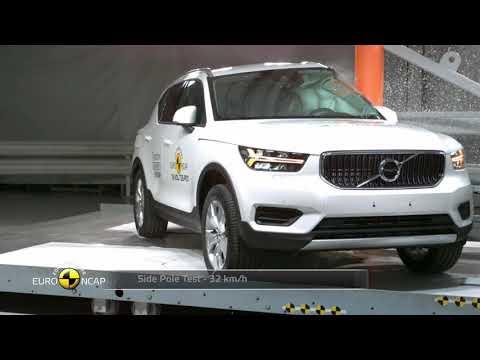 Volvo XC40, Crash Tests 2018 - Unravel Travel TV