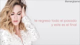María José - Ni Me Vas a Extrañar (con letra)