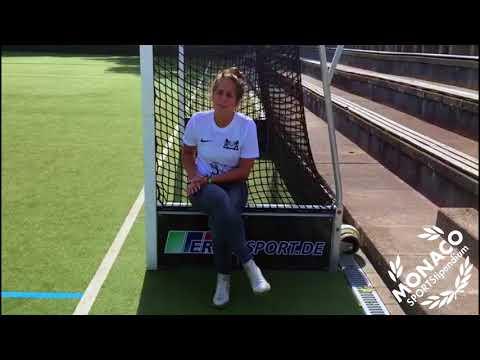 College Training für Feldhockey - Franzi von Monaco Sportstipendium