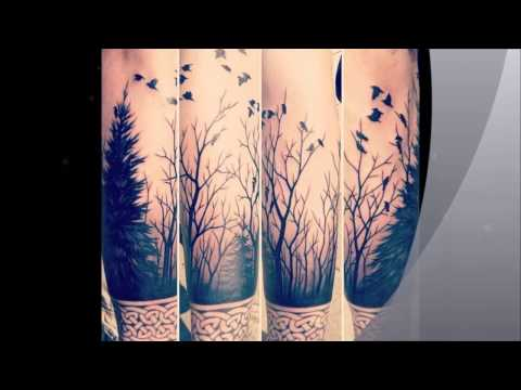 Forest and Tree Tattoo Ideas (Slide Vids)