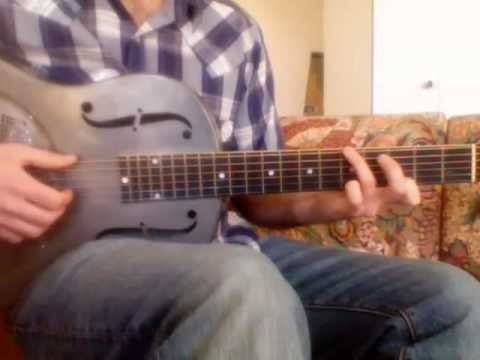 How to play Taj Mahal's Fishin Blues - Slow Verse