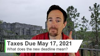 The IRS Extended the Tax Deadline to May 17, 2021 (for 2020 taxes). What exactly does this mean?