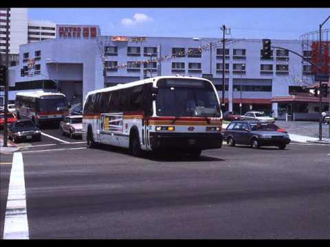 Scrtd Lacmta Advance Design Buses 1980 2007 Youtube