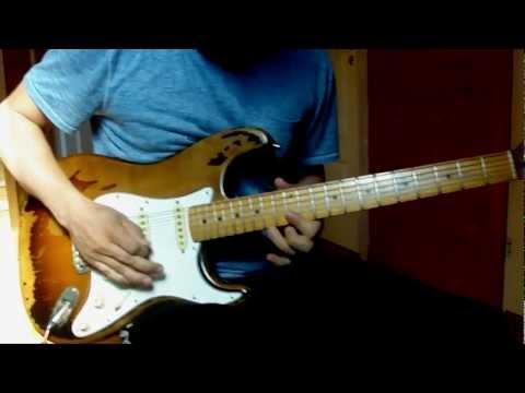 Sander's White Lion - Tell Me guitar cover