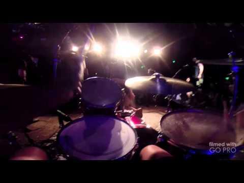 Converge - Aimless Arrow GoPro POV Drum Cam