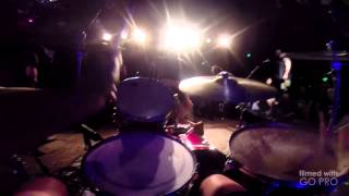 Converge - Aimless Arrow GoPro POV Drum Cam