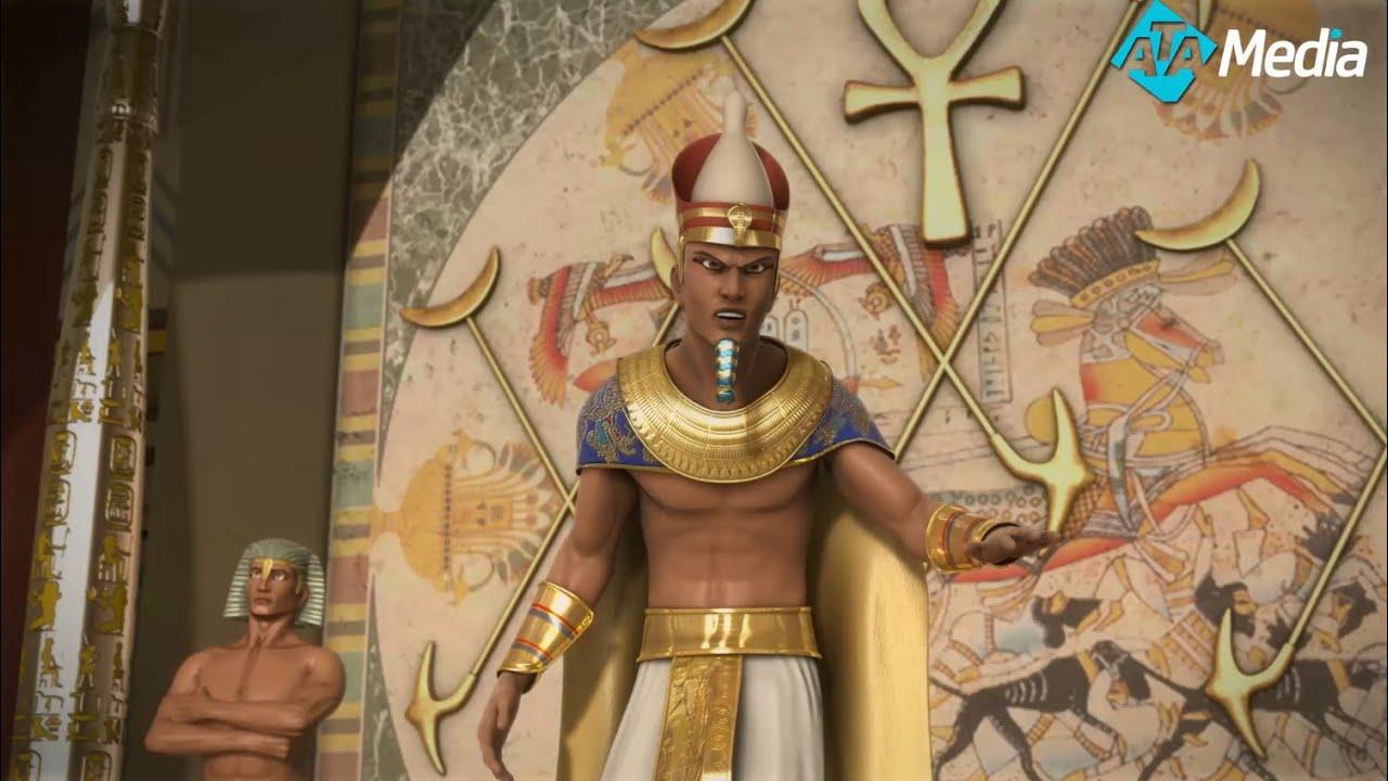 ماذا حدث عندما وصل سيدنا موسي عليه السلام الي قصر فرعون و هو طفل