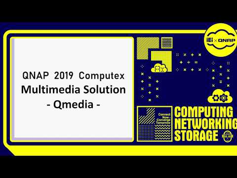 QNAP Multimedia Solution - Qmedia - Indonesian|QNAP 2019