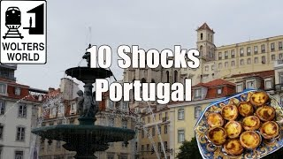 Видео Visit Portugal - 10 Things That Will SHOCK You About Portugal от Wolters World, Португалия