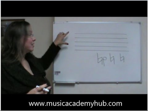 How to Draw a Natural Sign by Chris from Music Academy Hub in Stalybridge Cheshire