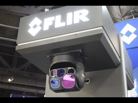 FLIR Star SAFIRE 380-HLDc Airborne Thermal Imaging System at AUSA 2016