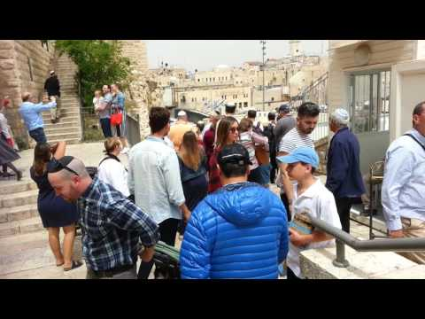 Pessach (Passover) 2017 in the Old City of Jerusalem