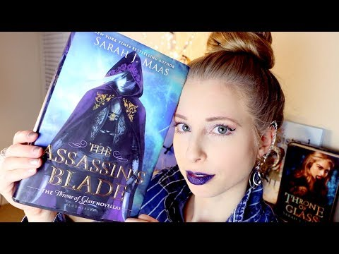 THE ASSASSIN'S BLADE BY SARAH J MAAS | booktalk with XTINEMAY