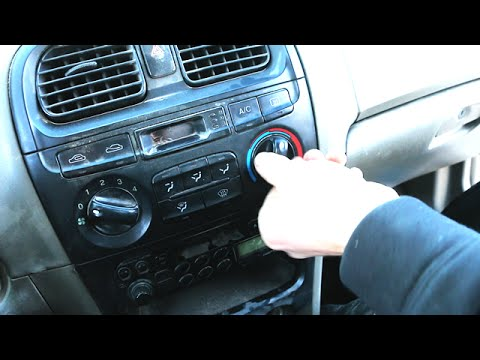 How to Fix Broken Temperature Knob Heater AC Air Conditioning Not