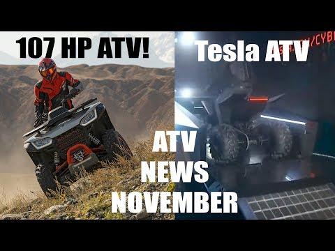 Tesla Sport ATV, 107 HP Segway 4x4, ATV On Demand News November 2019