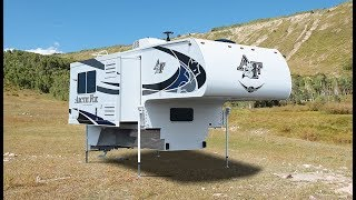Quick Tour of The New Arctic Fox 990 Pickup Camper